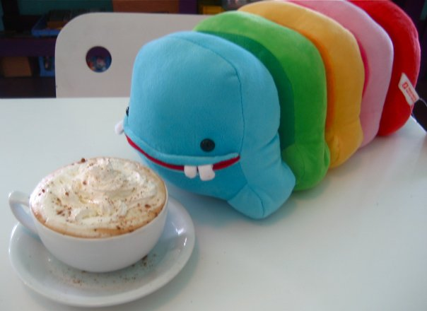 Mr. TTT loves cappuccinos...
