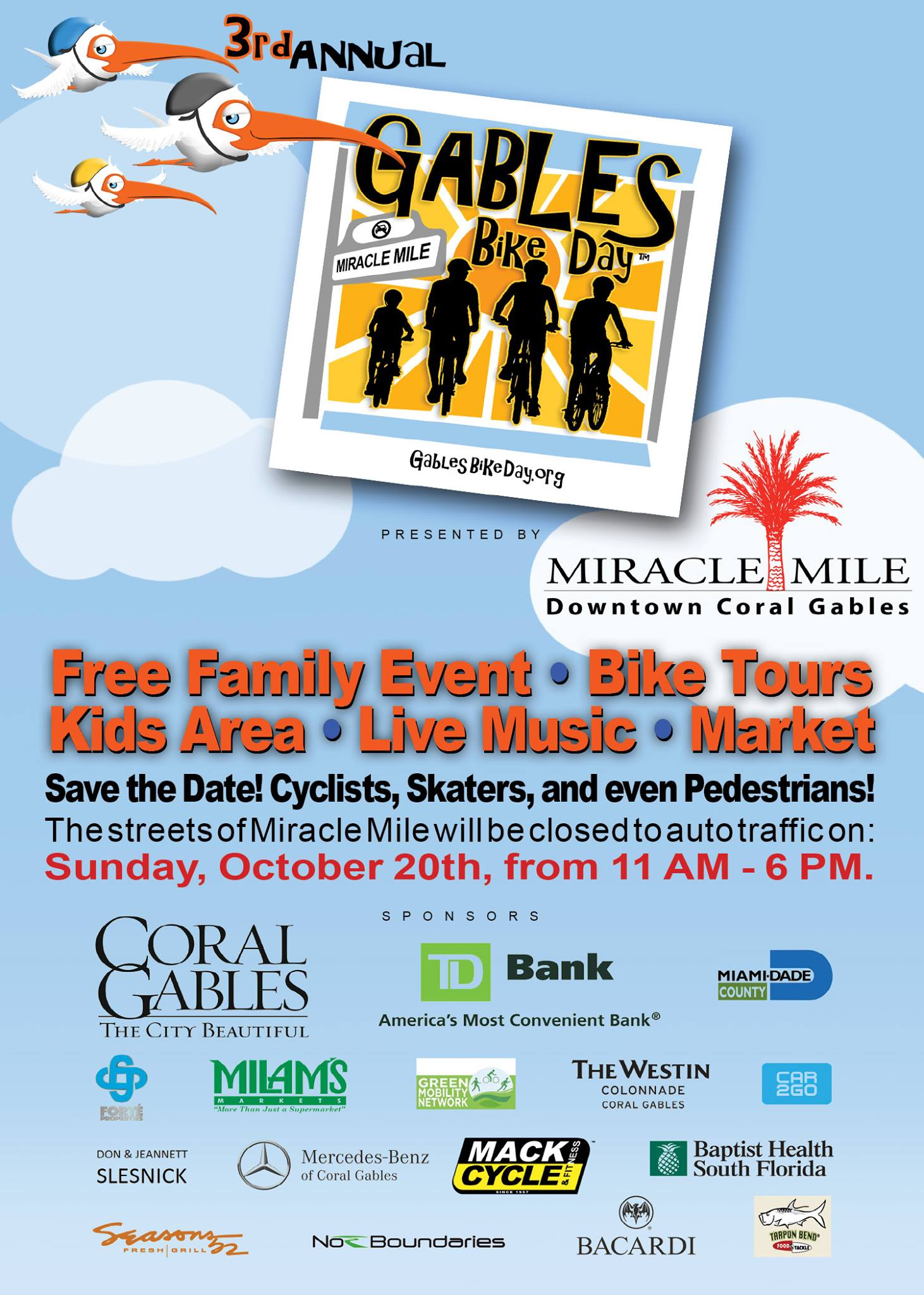 Coral-Gables-Bike-Day