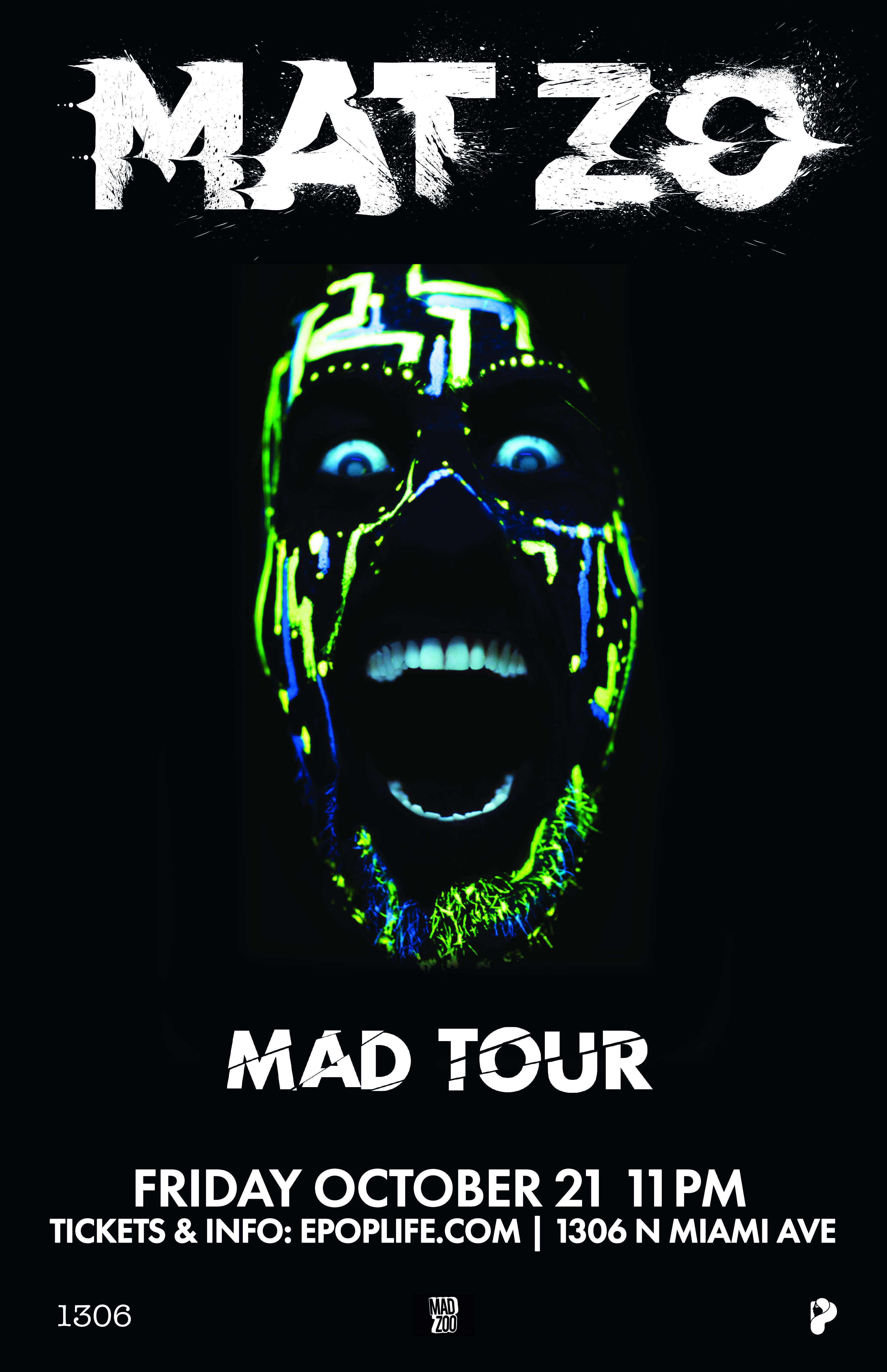 Mat Zo - Mad Tour Poster.indd
